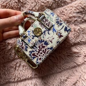 Tory Burch • Robinson Saffiano Mini Coin Pouch Bag